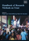 Cover Handbook Research Methods on Trust 2012